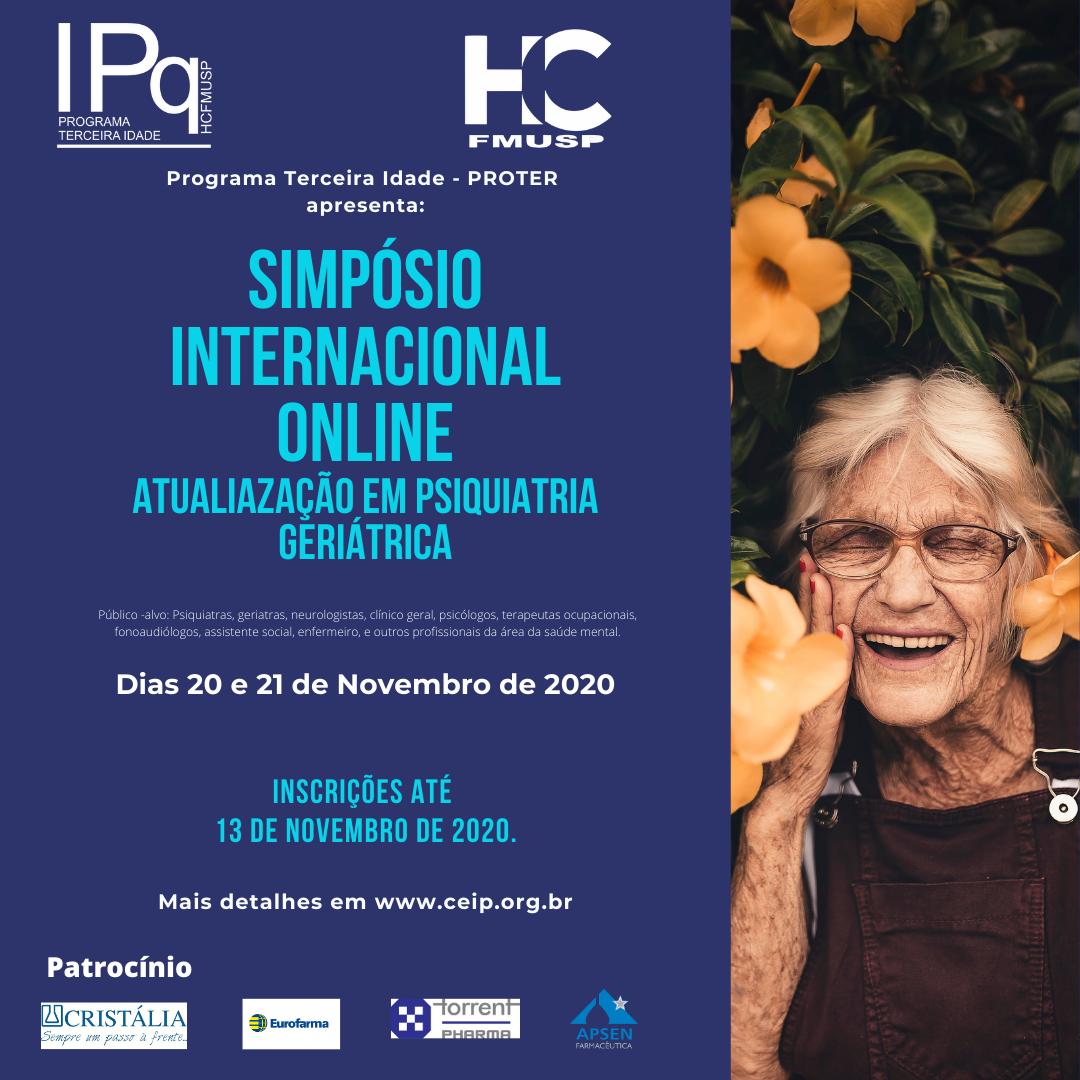 XXIV Simpósio Internacional de Atualização em Psiquiatria Geriátrica